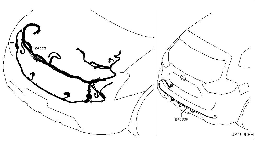 24270 Jg31a Genuine Nissan 24270jg31a Prtector Harness