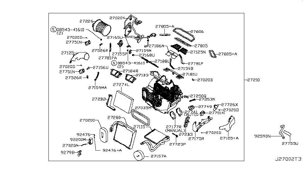 Genuine Blower Motor Control Module 277A1-4BU0A