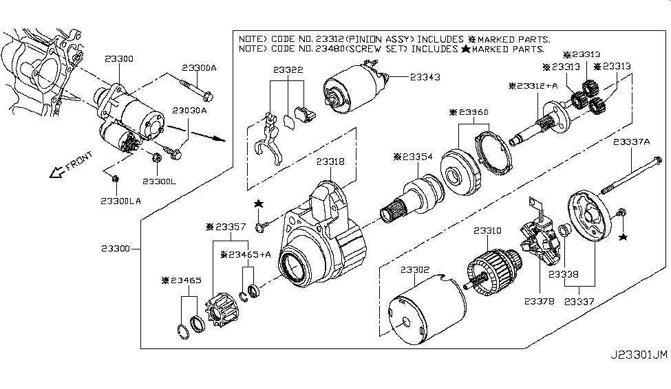 2019 Nissan Rogue Japan Make Starter Motor