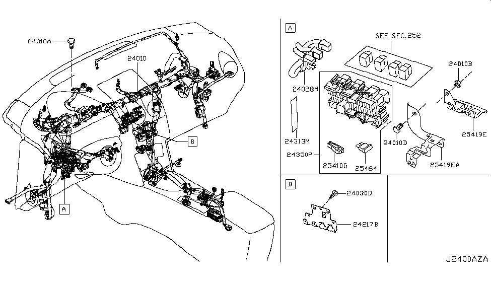 2017 Nissan Rogue New Version, Japan Make Wiring