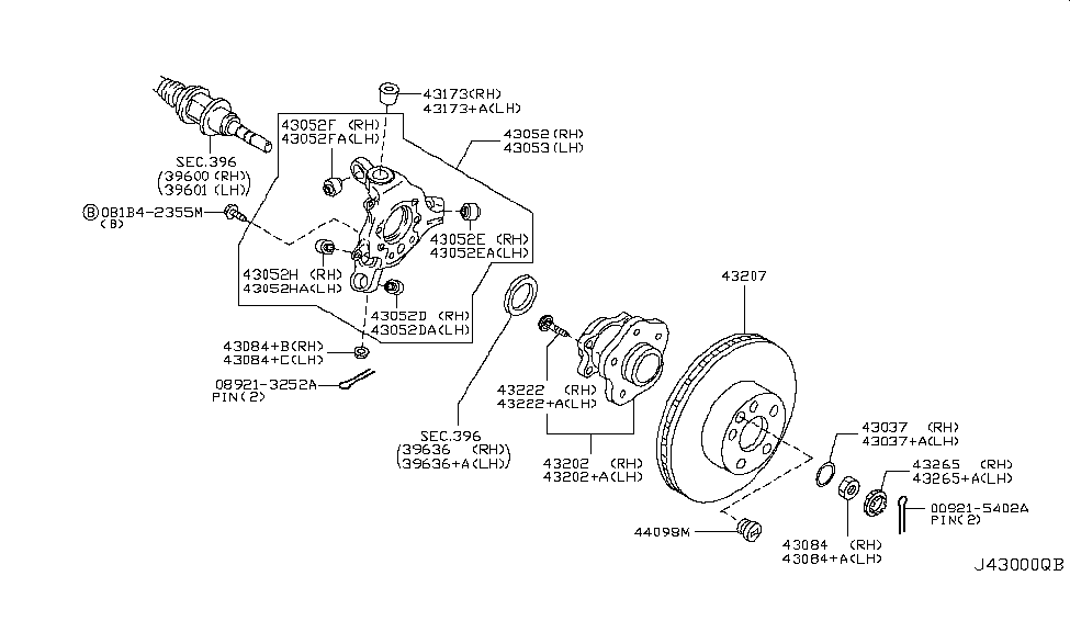 2015 Nissan 370Z Rear Axle - Nissan Parts Deal