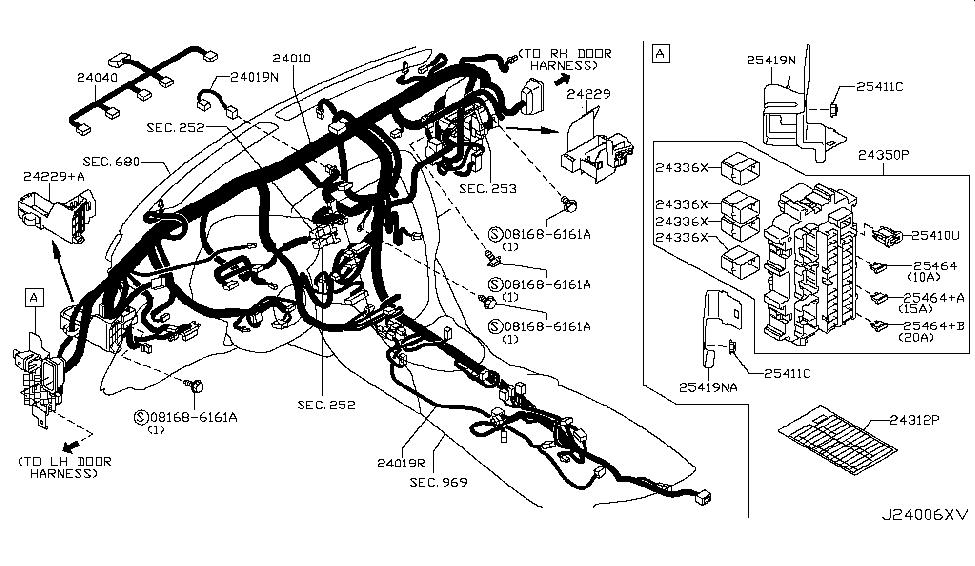 2013 nissan 370z wiring nissan parts deal rh nissanpartsdeal com 2014 Nissan 370Z Interior 2014 Nissan 370Z Touring