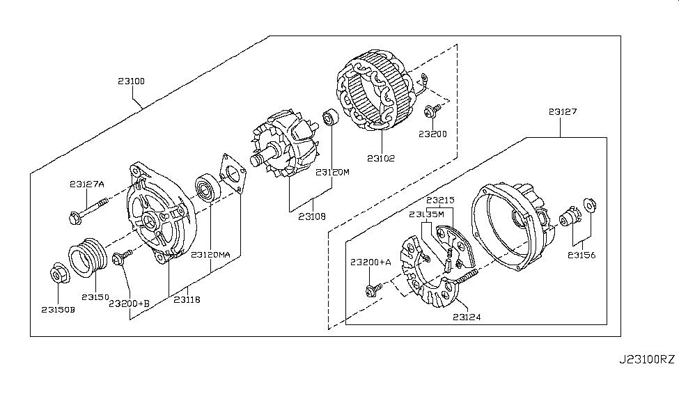 2019 Nissan 370Z Alternator - Nissan Parts Deal