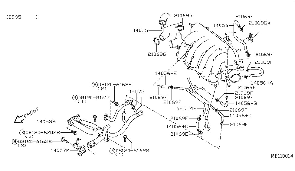 95 Nissan Quest Engine Diagram Thermostat