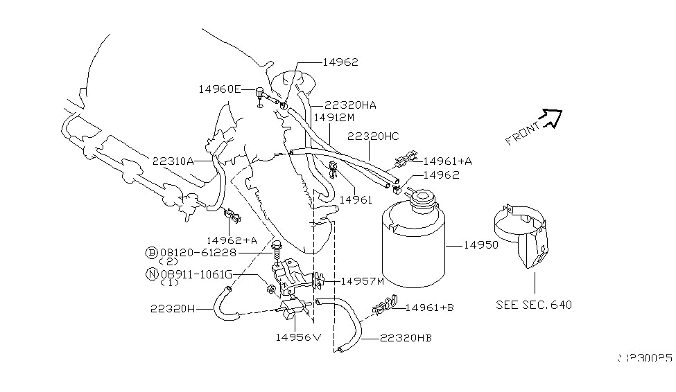95 Nissan Quest Engine Diagram Thermostat
