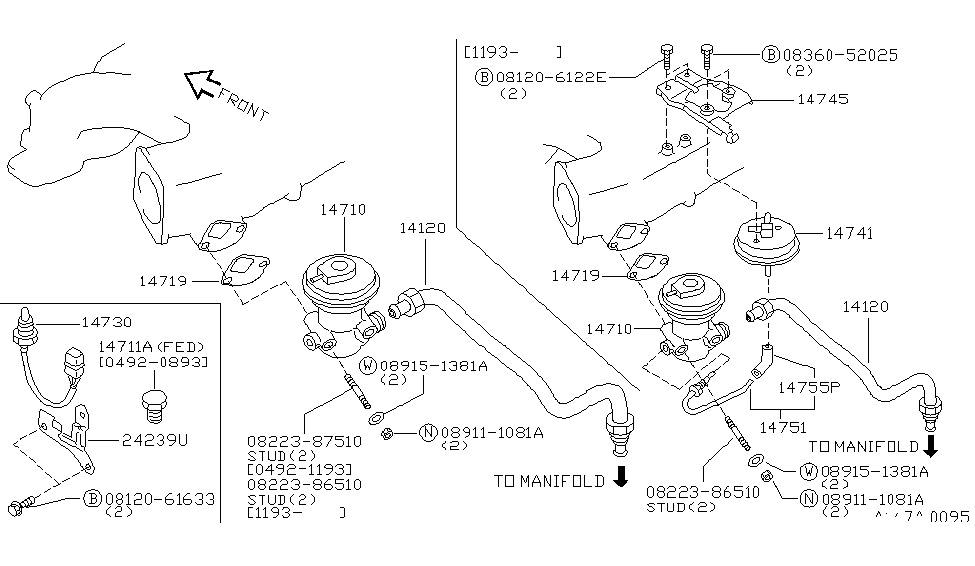 1996 nissan quest engine
