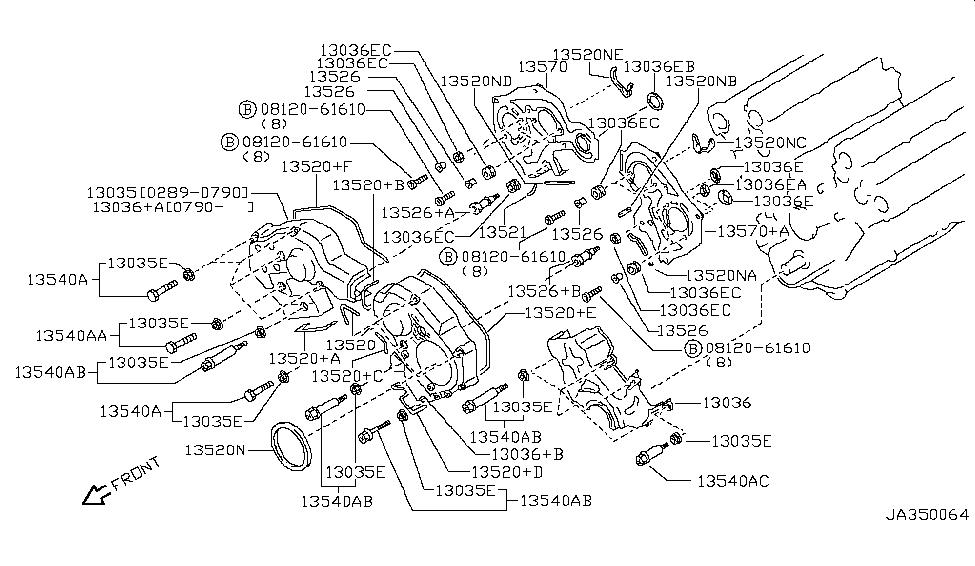 Nissan 13524-D0112