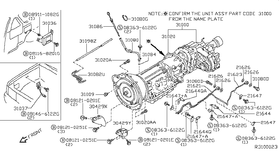 Wiring Diagram: 27 2004 Nissan Xterra Parts Diagram