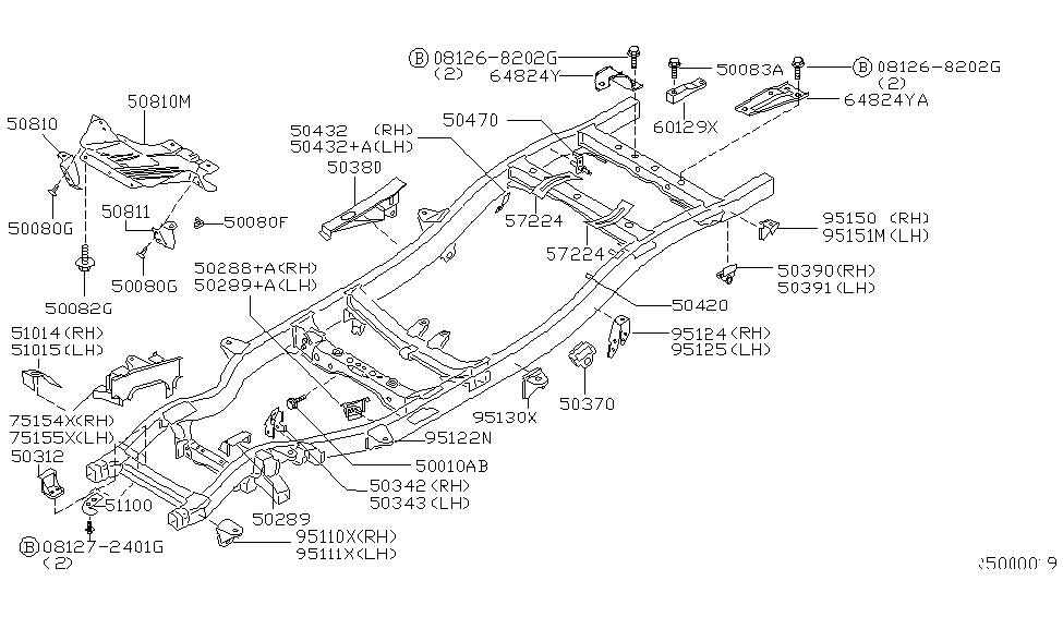 51114-9Z300 | Genuine Nissan #511149Z300 TOW HOOK
