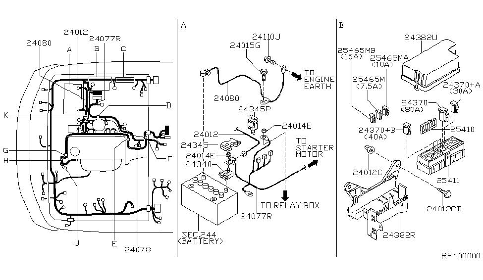 2002 Nissan Xterra Wiring - Nissan Parts Deal on