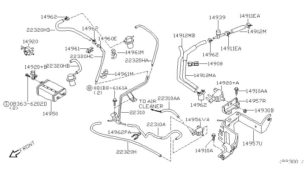 Wiring Diagram: 27 2004 Nissan Xterra Parts Diagram
