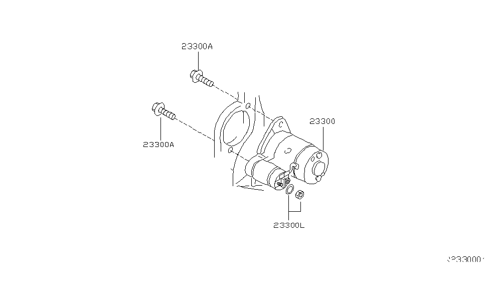 2002 Nissan Xterra Starter Motor - Nissan Parts Deal on