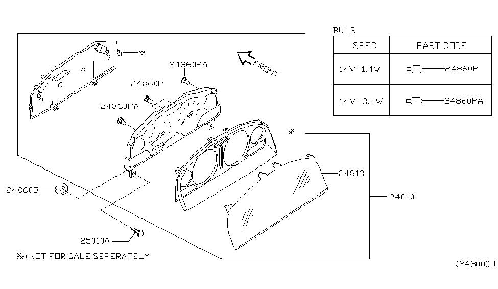 2003 Nissan Xterra Instrument Meter & Gauge - Nissan Parts Deal