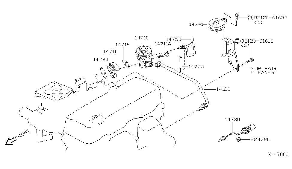 2001 Nissan Xterra EGR Parts - Nissan Parts Deal