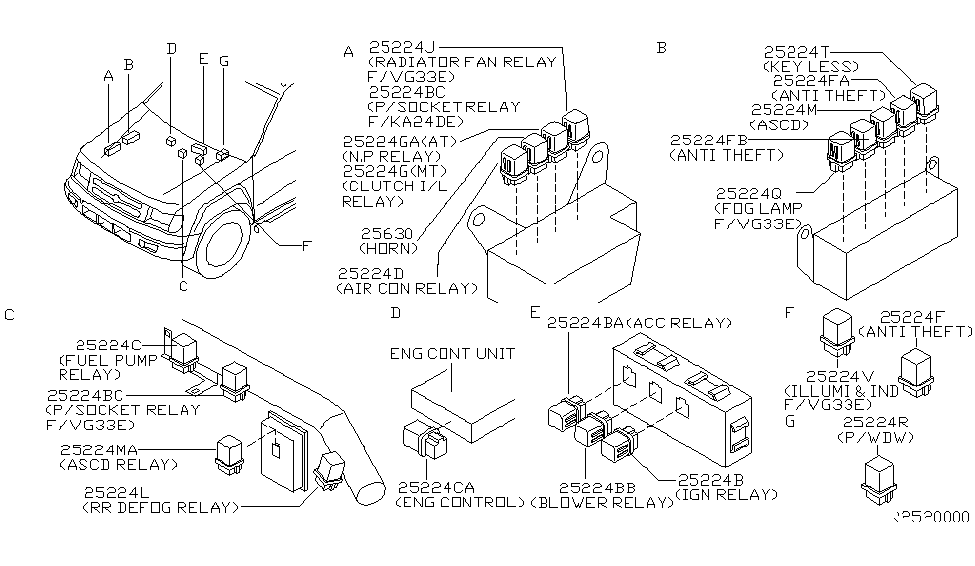nissan 25230 79915 Heater Motor Relay Wiring Diagram