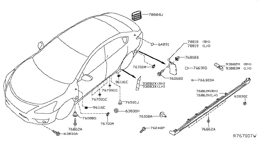2014 Nissan Sentra Parts