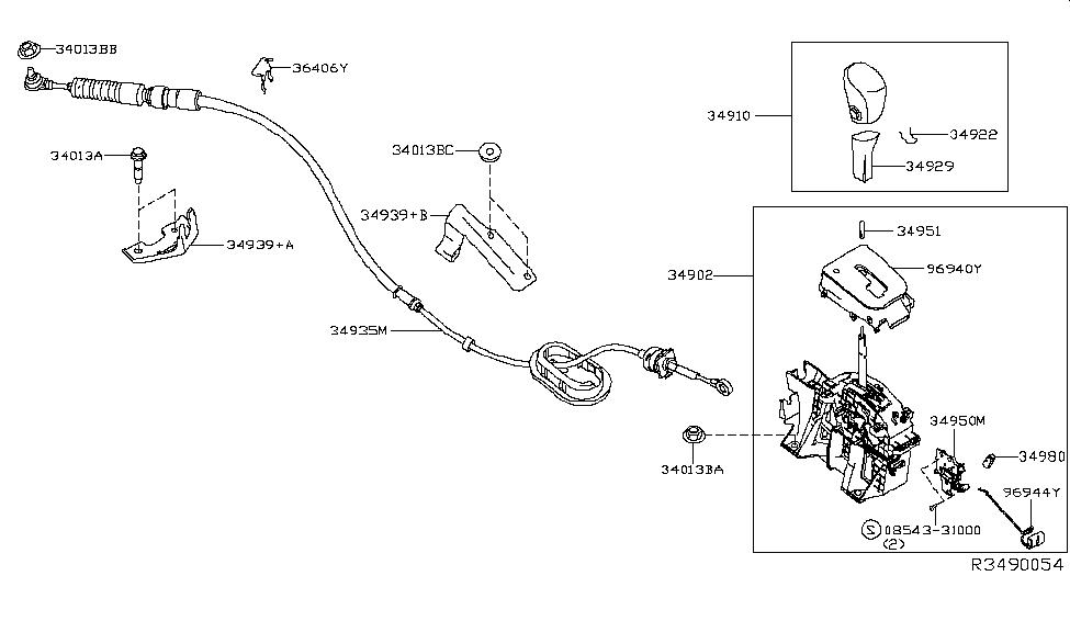 2013 Nissan Altima Shift Lock Solenoid Part ~ Perfect Nissan