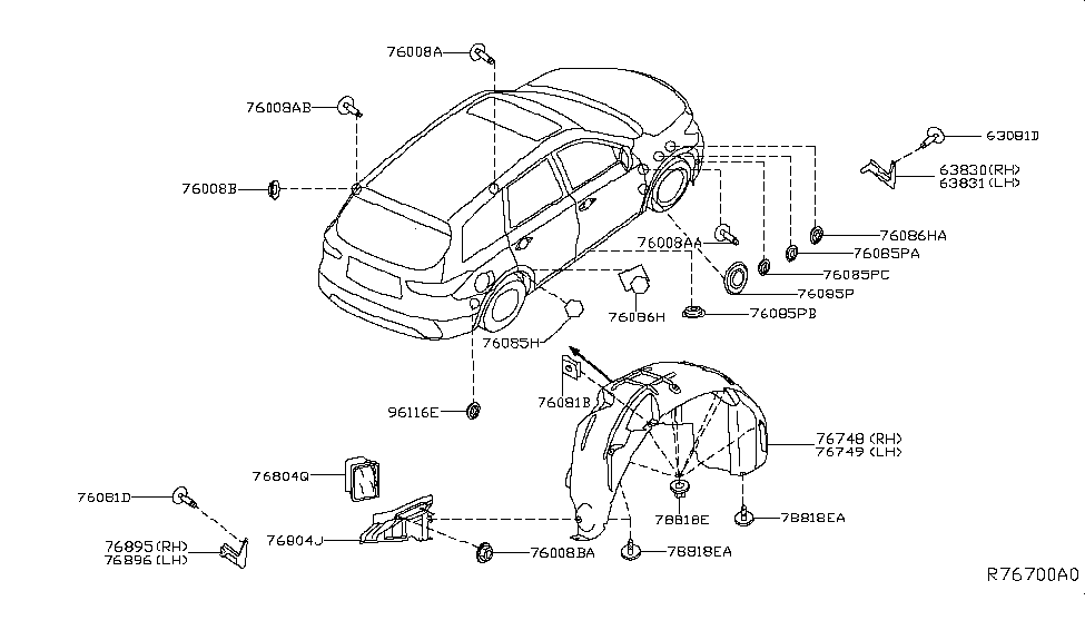 Nissan Pathfinder Parts Diagram ~ Perfect Nissan
