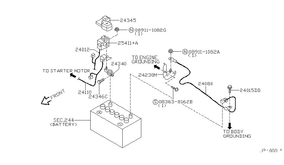 Wiring Diagram PDF: 2002 Nissan Sentra Wiring Diagram