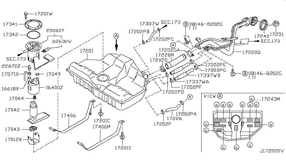 nissan 25060 5y700 2003 Maxima Se Engine Diagram