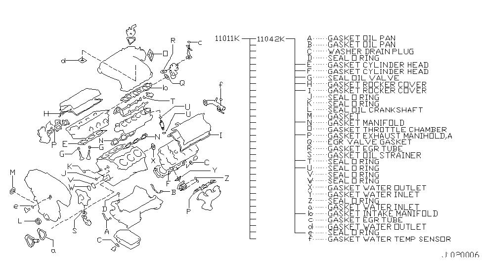 2001 nissan maxima engine diagram