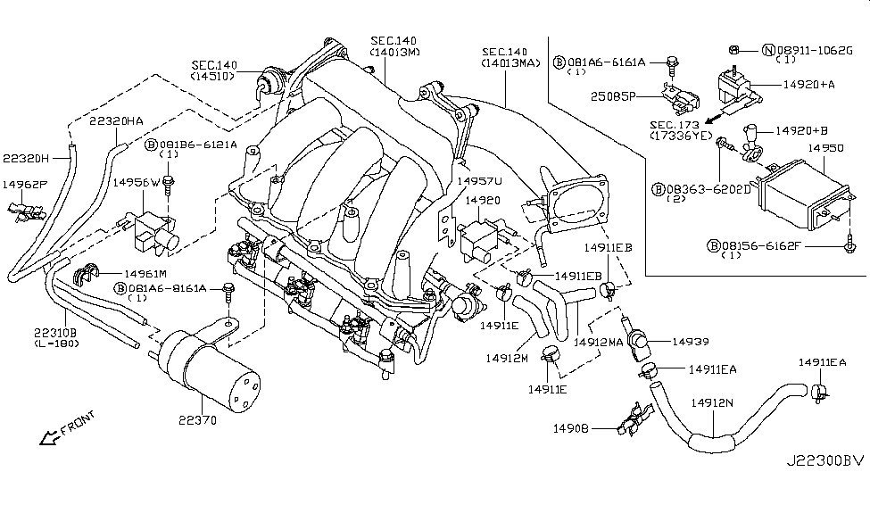 nissan 22370 2y500 2003 Maxima Se Engine Diagram