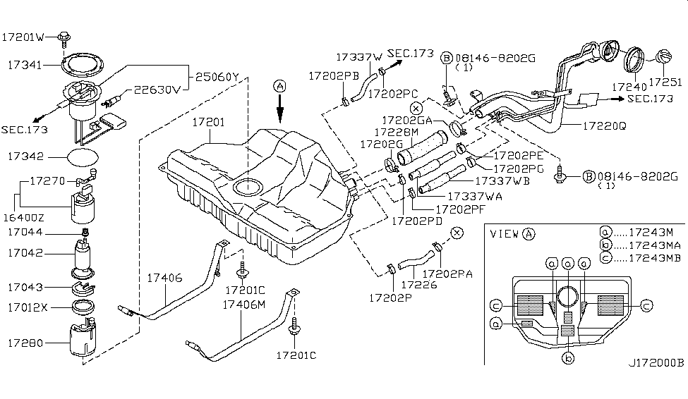 Wiring Diagram  35 2002 Nissan Maxima Parts Diagram