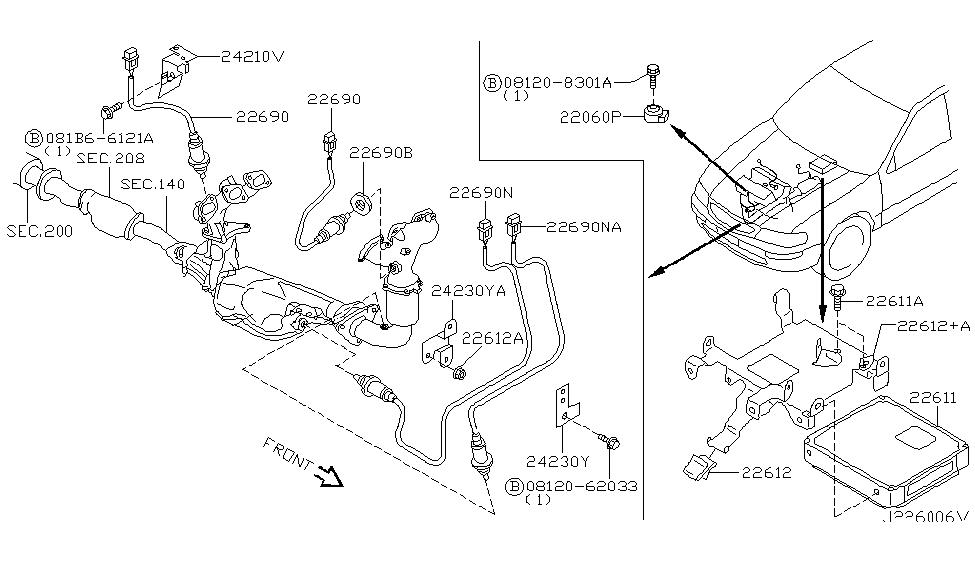 2003 Nissan Maxima Engine Diagram - Wiring Diagram Schemas