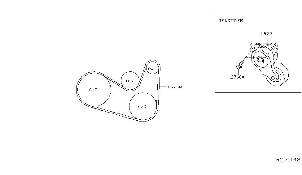 Wiring Diagram: 26 05 Altima Belt Diagram