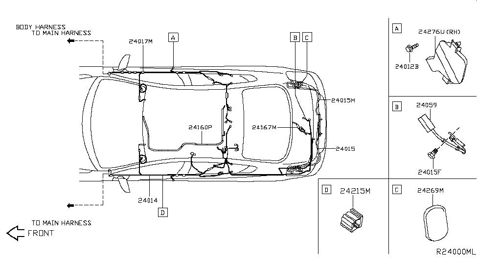 nissan 24065 9n00a Nissan Navigation System