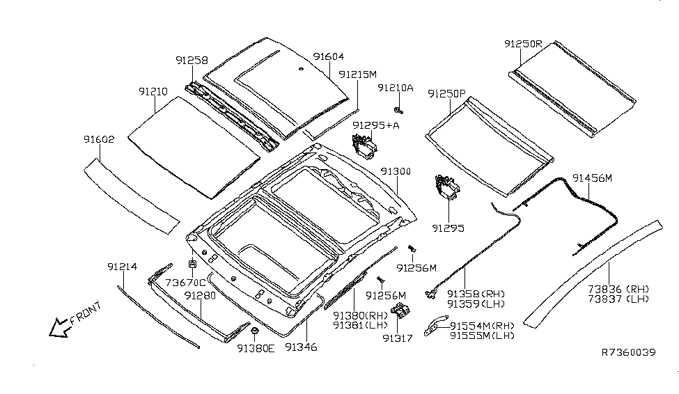 91760-9N02A - Genuine Nissan Parts
