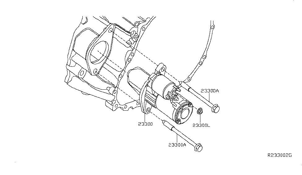 2013 nissan maxima starter motor