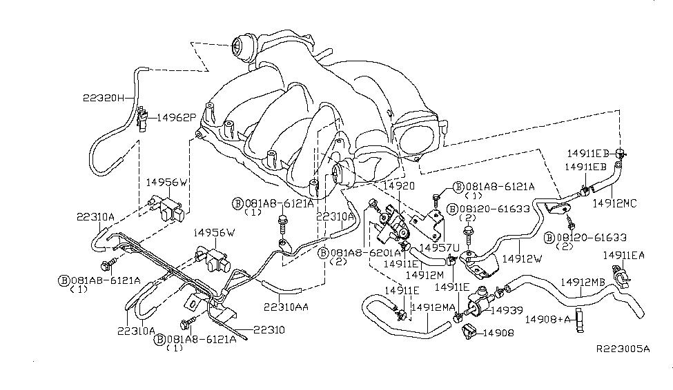 2014 Nissan Maxima Engine Diagram - Wiring Diagram Schemas