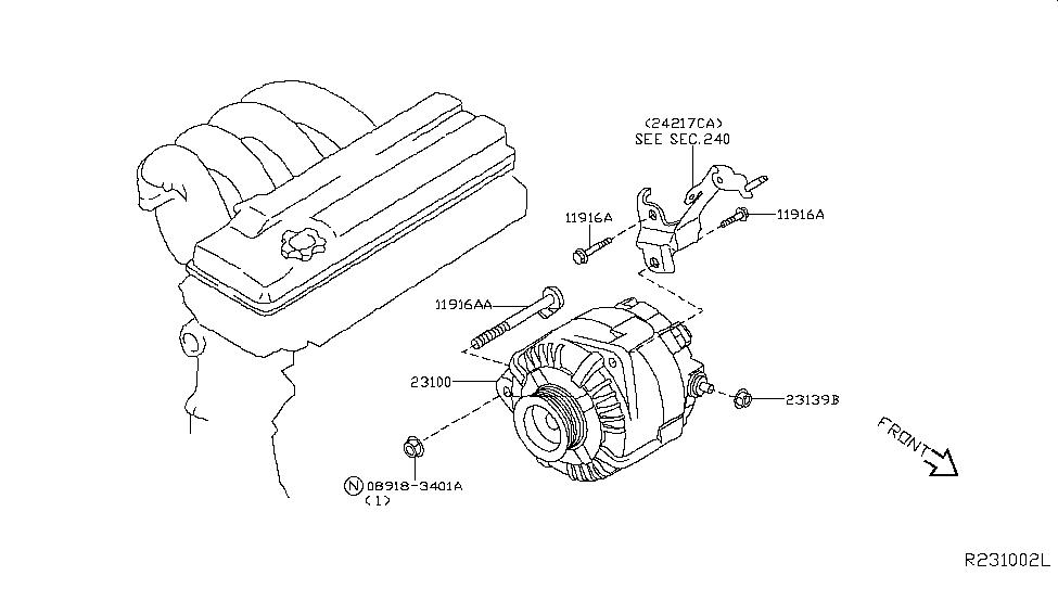 2009 nissan maxima alternator nissan parts deal 1994 Nissan Maxima Engine Diagram 2009 nissan maxima alternator