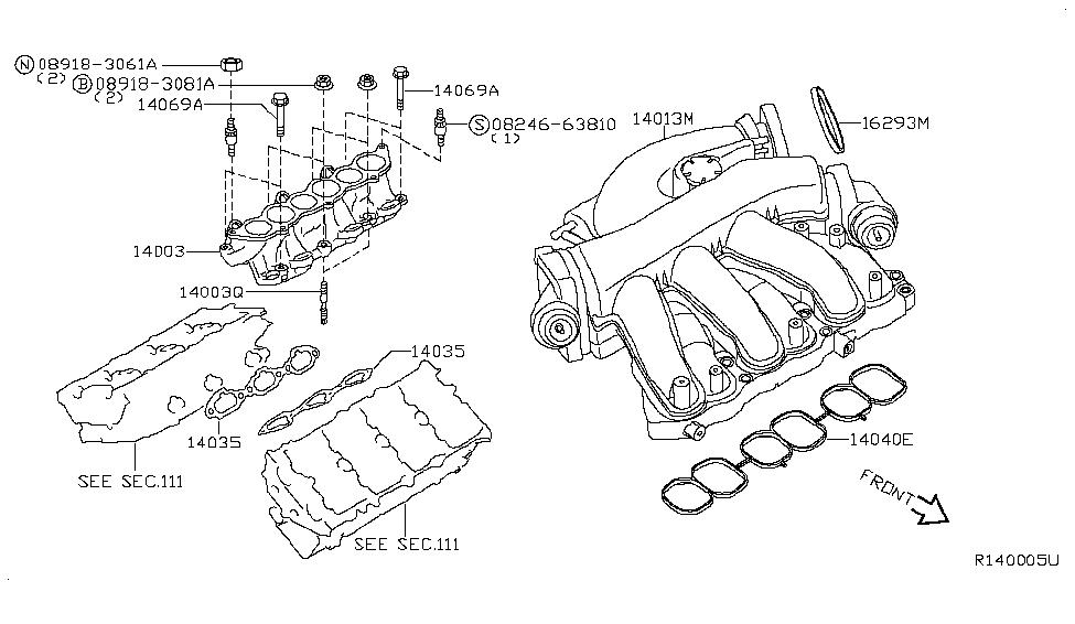 2009 Nissan Maxima Engine Diagram - Wiring Diagram Schemas