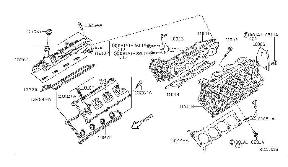 13264-7S000 - Genuine Nissan Parts