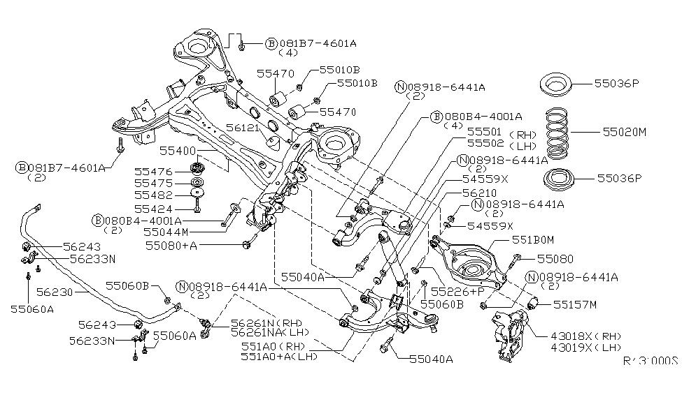2004 Nissan Armada Rear Suspension Nissan Parts Deal