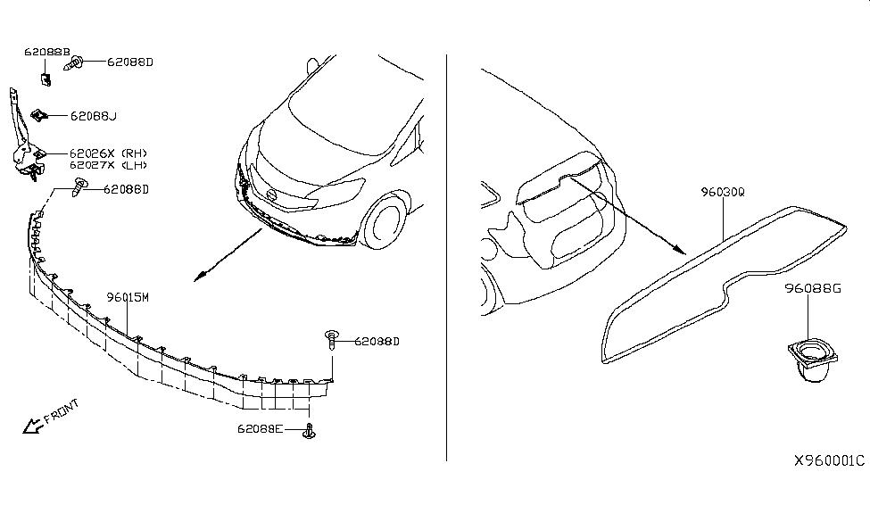 2019 Nissan Versa Note Air Spoiler - Nissan Parts Deal