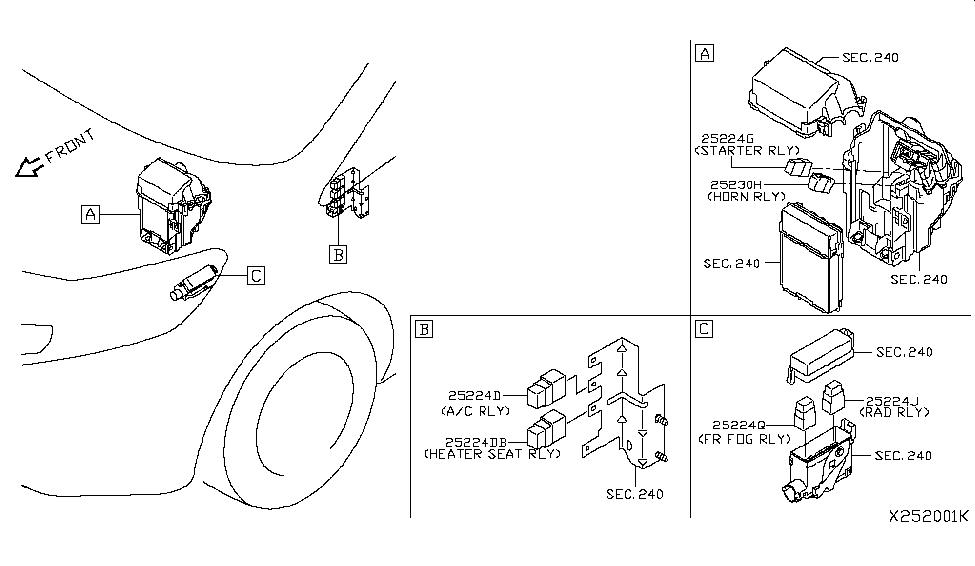 2014 nissan versa note relay nissan parts deal Nissan Versa Fuel Wiring Diagram