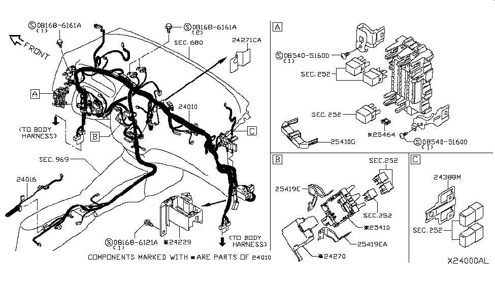 2015 Nissan Versa Note Wiring - Nissan Parts Deal on