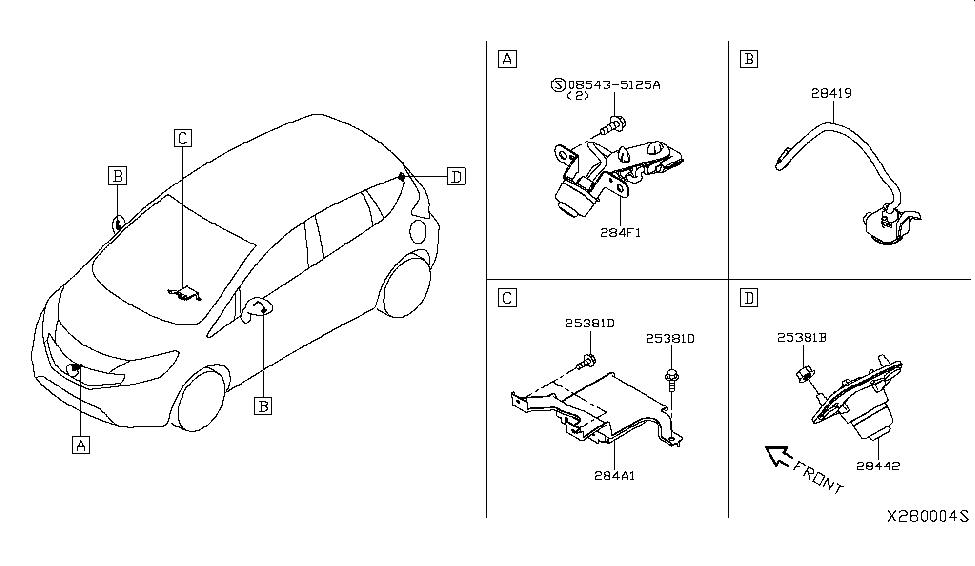 2019 Nissan Versa Note Audio & Visual - Nissan Parts Deal