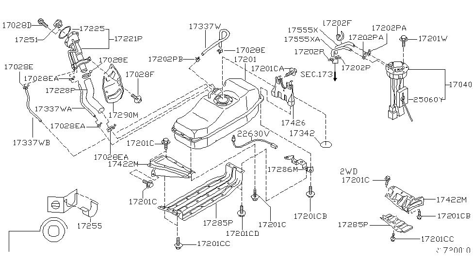 25060 4s400 Genuine Nissan 250604s400 Fuel Sender Fuel