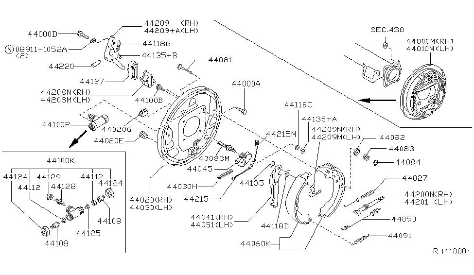 2000 Nissan Xterra Rear Brakes ~ Perfect Nissan