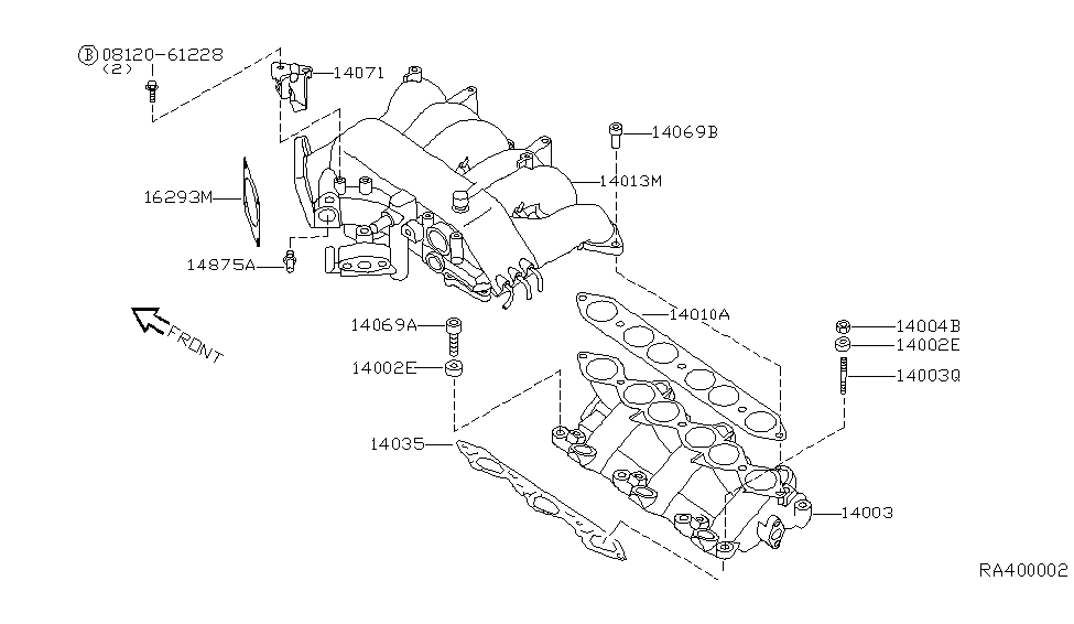 Illust Ref c Exhaust together with 2001 Nissan Xterra Hose Diagram in addition Engine Control Vacuum Piping in addition Engine Control Vacuum Piping furthermore Diagrama De Tiempo De Un Nissan Maxima 99 V6 30. on nissan frontier vg33e engine diagram