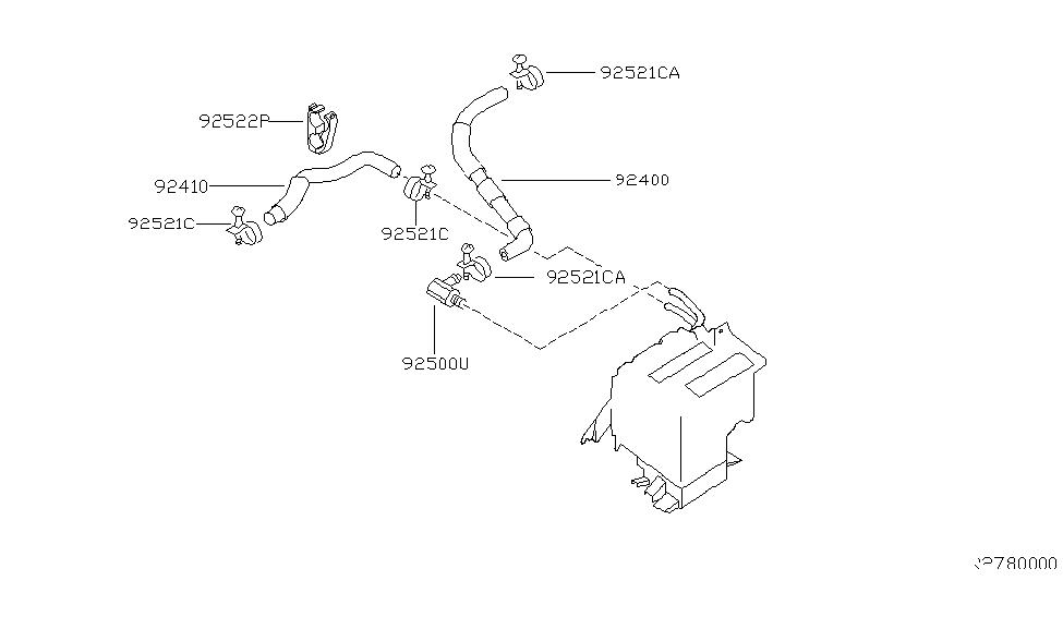 28 2001 Nissan Xterra Hose Diagram