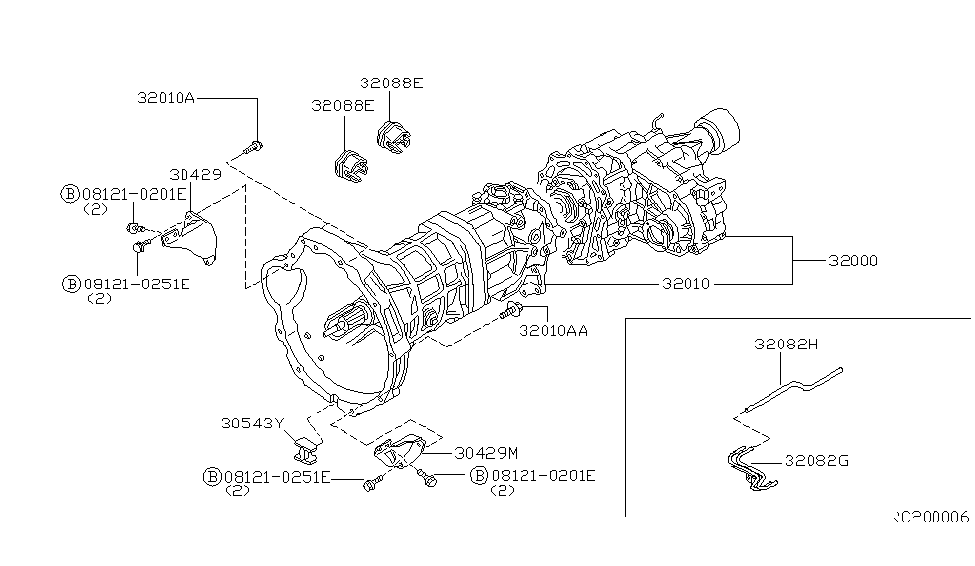 1998 Nissan Frontier Manual Transmission Diagram