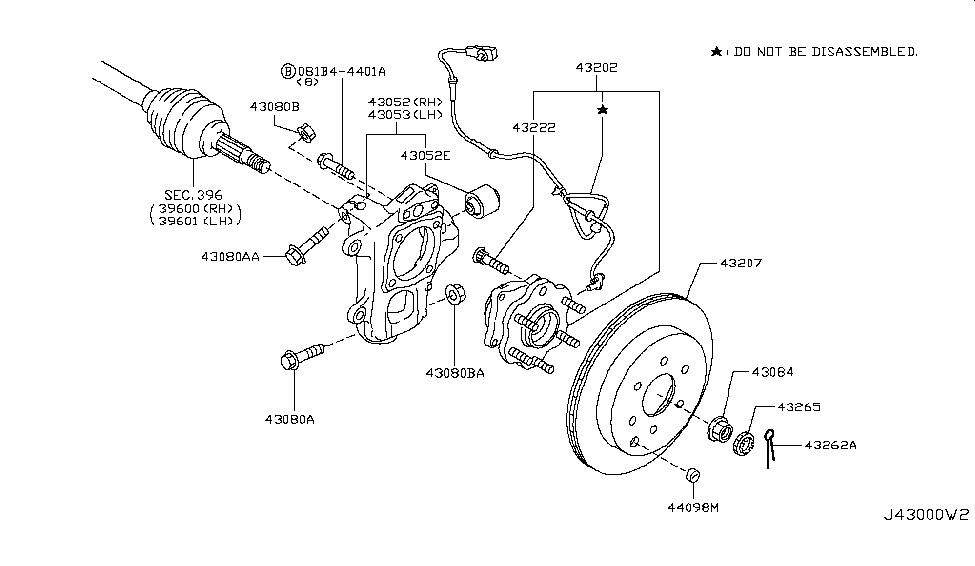 2017 Nissan Armada Rear Axle - Nissan Parts Deal