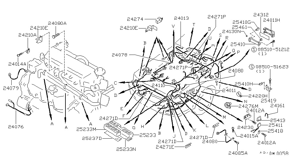 1986 Nissan Maxima Wiring Diagram