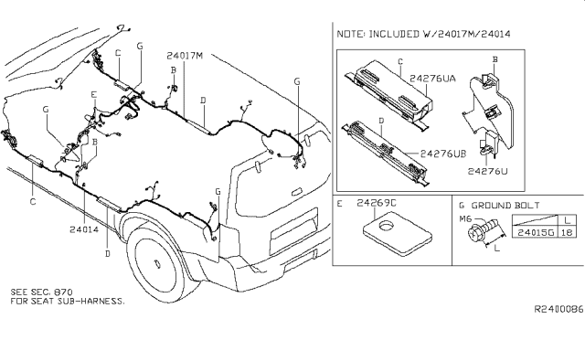 2005 Nissan Pathfinder Wiring Nissan Parts Deal