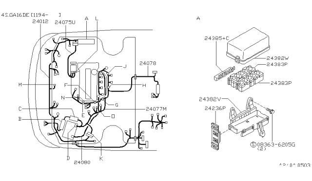 1997 Nissan 200SX Wiring - Nissan Parts DealNissan Parts